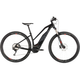 Cube Acid Hybrid Pro 400 E-mountainbike Trapez sort